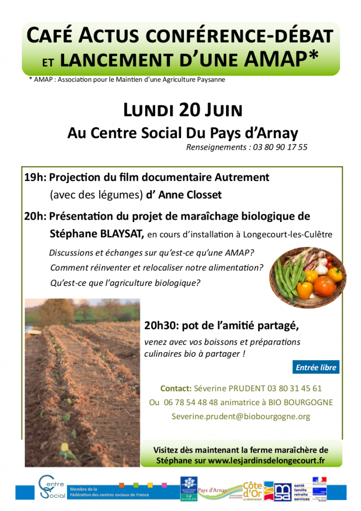 Lundi 20 Juin Conférence