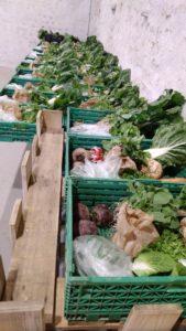 Les commandes de légumes sont prêtes!